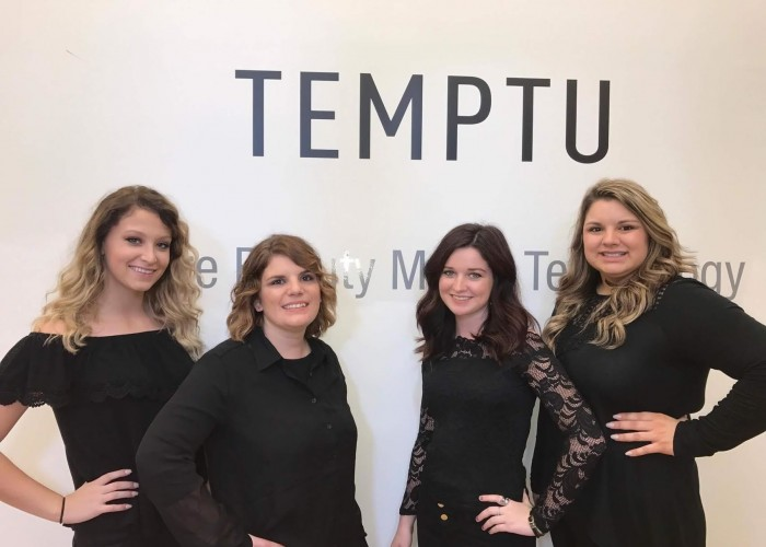 Air Brush Makeup at the Temptu Showroom