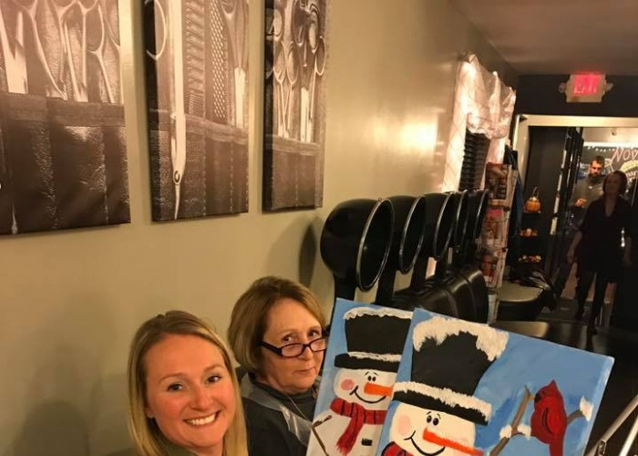 Sip & Paint 2018 w/ Lil' Paws Winery